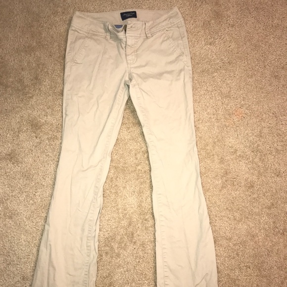 American Eagle Outfitters Pants Girls Khaki Uniform Poshmark